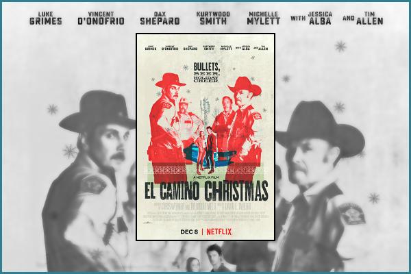 """"""" • Jessica joue dans le film « El Camino Christmas » sortie sur Netflix le 08 décembre ! -"""