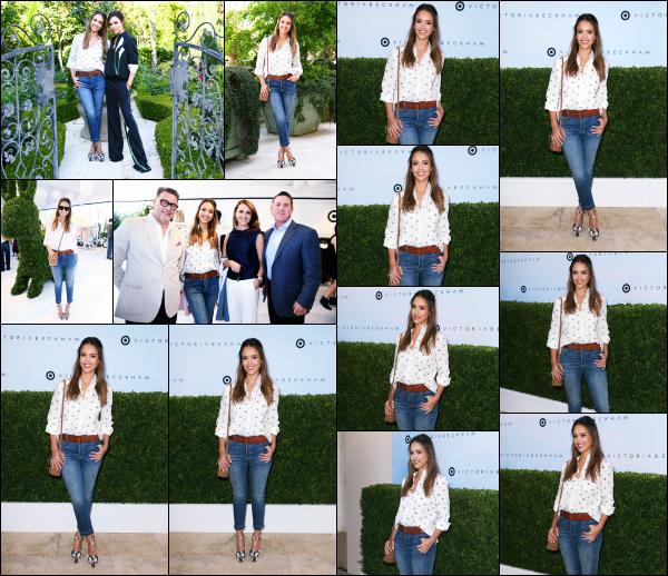 - 01.04.17 ─ La ravissante Jessica Alba était présente pour « Victoria Beckham for Target Launch » à Los Angeles ![/s#00000ize]J'aime beaucoup la tenue que portait Jessica lors de cette journée, surtout sa petite chemise. Elle à bien évidemment posée avec Victoria Beckham ! Top -