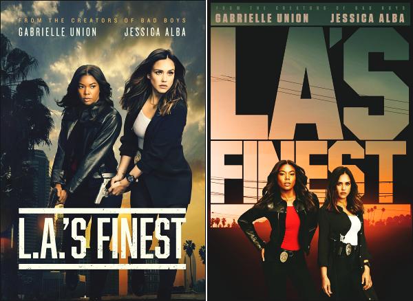 """"""" • Découvrez les posters de la série « L.A'S FINEST » prévue pour le 13 mai prochain !  -"""
