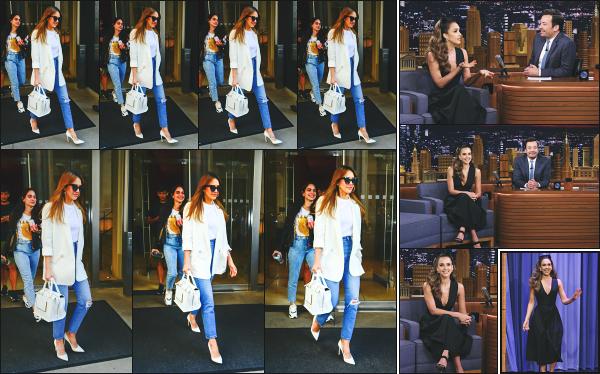- 16.05.19 ─ Notre belle Jessica Alba est photographiée  alors qu'elle quittait son hôtel dans la ville de - New York ![/s#00000ize]JA est sortie à deux reprises ce jour là, notamment pour se rendre sur le plateau du « Tonight Show With Jimmy Fallon » toujours en promo sur la série. -