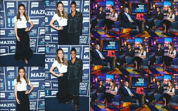 - 20.05.19 ─ Jessica Alba était présente lors du show « Watch What Happens Live With Andy Cohen » à New York ![/s#00000ize]L'émission a été tournée lors de son passage à New York et est diffusé que maintenant sur les chaînes américaines pour la promo de L.A Finest ! Un top. -