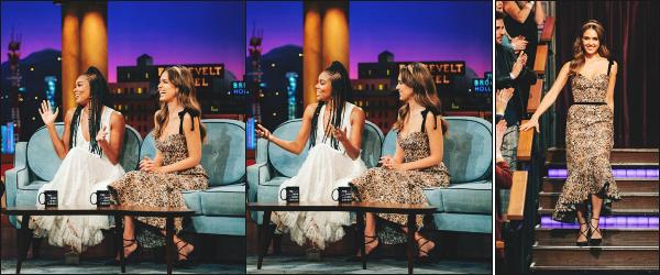 - 21.05.19 ─ Jessica Alba était présente lors du tvshow « The Late Late Show with James Corden » à - Los Angeles ![/s#00000ize]Toujours en pleine promo au côté de Gabrielle Union, les deux jeunes femmes ont aussi parlé de leur projets personnels. Jessica est très belle, beau top !  -
