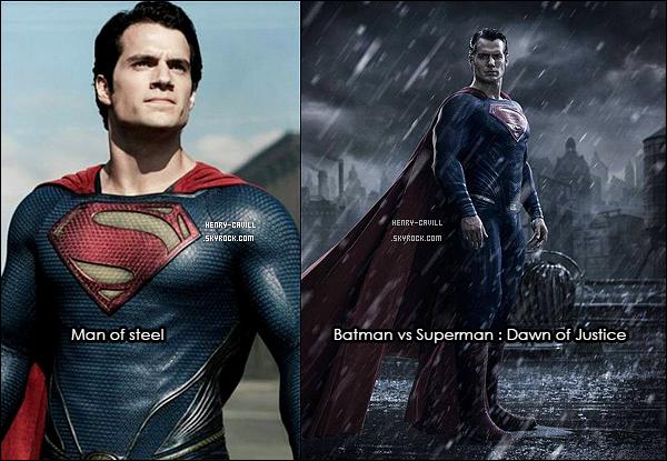 Découvre en exclusivité le nouveau look de Henry Cavill (Kal-El) dans Batman vs Superman
