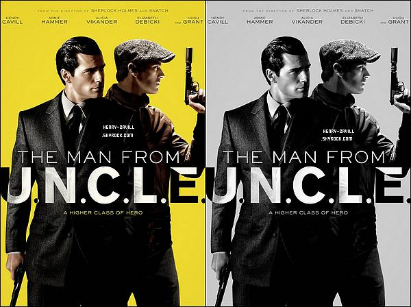 """. Découvre la bande annonce du film """"The Man from Uncle"""" avec Henry  et A.Hammer  ."""
