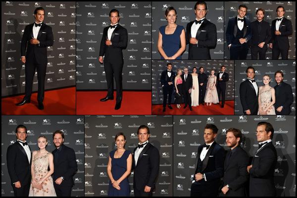 . 04.09.2018 : Henry Cavill, était au « Jaeger-LeCoultre Gala Dinner »durant le Festival du Film à Venice en Italie  .