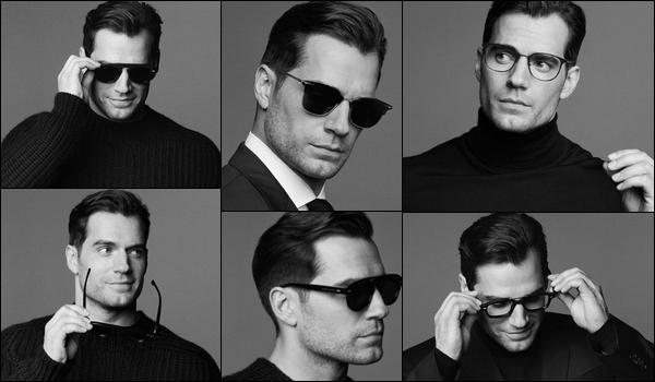 Henry est l'égérie des lunettes  « HUGO BOSS »  pour la collection Automne/Hiver