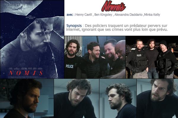 Découvre l'affiche , les stills et le trailer du nouveau film de Henry Cavill « NOMIS »