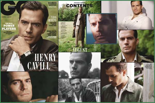 Henry fait la couverture du magazine  « GQ AUSTRALIA »  d'Août 2018 et a fait un shoot