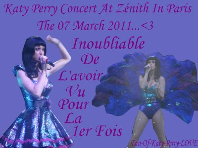 Concert By Katy perry