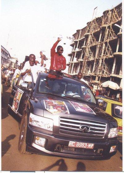 en tournée  en guinée