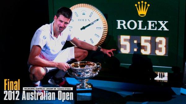 Djokovic et Nadal dans le match historique