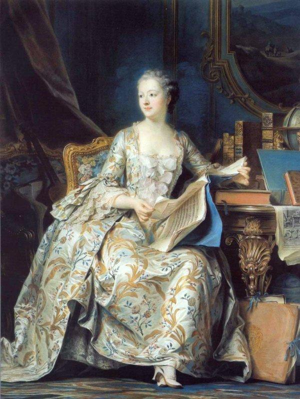La marquise de Pompadour. ( un petit aide pour l'épreuve d'histoire des arts )
