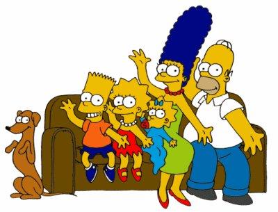 la famille simpsone