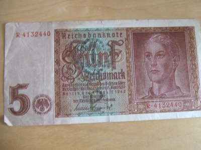 billet de 5 reichsmark