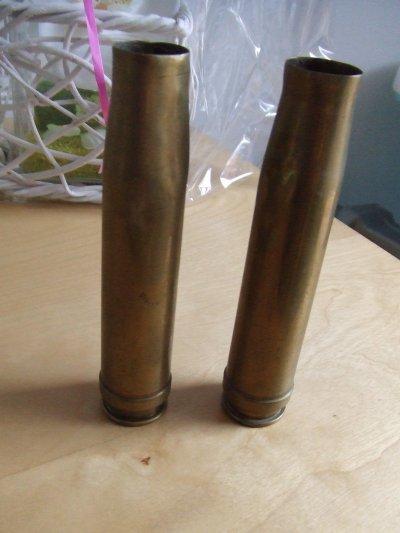 douilles 20mm de la flak