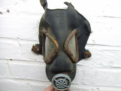 masque anti gaz US de fouille