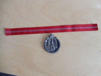 petit ruban de la médaille du front de l est