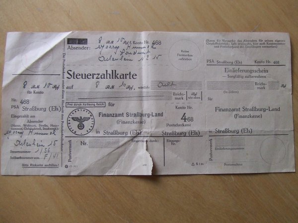 ensemble papiers allemands