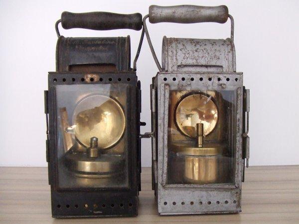 LAMPE A  CARBURE DEUTSCHE REICHSBAHN