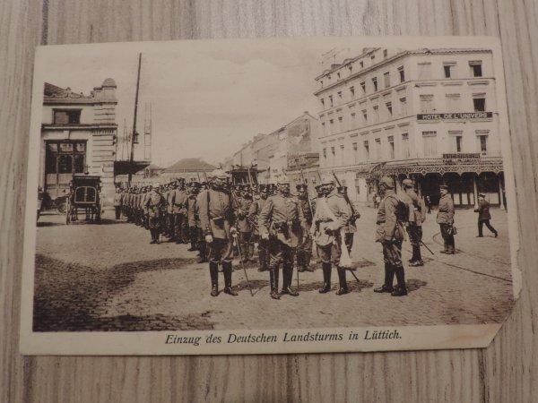 HOTEL DE L UNIVERS A LIEGE WW1