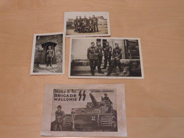 GOURDE AFRIKA KORPS + PHOTOS ALLEMAND WW2