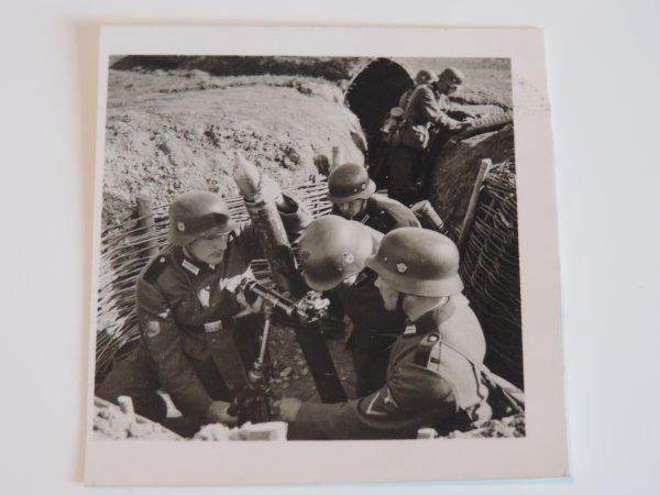 """PHOTOS """"LIEGE DéLIVRéE"""" + MORTIER ALLEMAND WW2"""