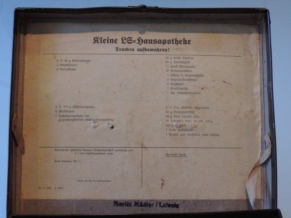 PETITE PHARMACIE LUFTSCHUTZ ALLEMAND WW2