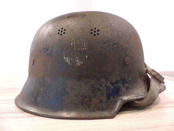 CASQUE POLIZEI M34 ALLEMAND WW2