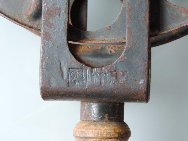 DEROULEUR DE CABLE WHERMACHT ALLEMAND WW2