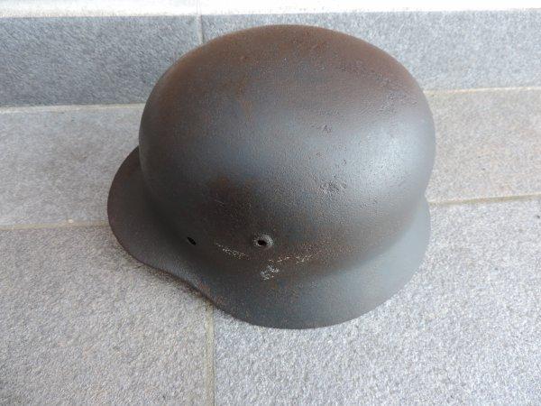 CASQUE LUFTWAFFE M40 ALLEMAND WW2