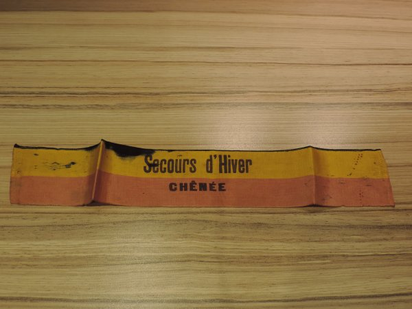 SECOURS D HIVER  LIEGE WW2