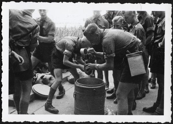 GOURDE HJ ALLEMAND WW2