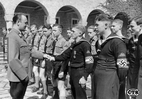 BRASSARD HJ ALLEMAND WW2