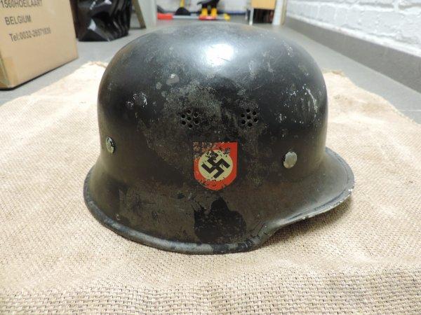 CASQUE POLIZEI ALLEMAND WW2