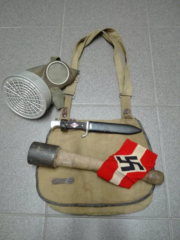 SAC A PAIN HJ ALLEMAND WW2