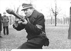 BRASSARD VOLKSSTURM ALLEMAND WW2