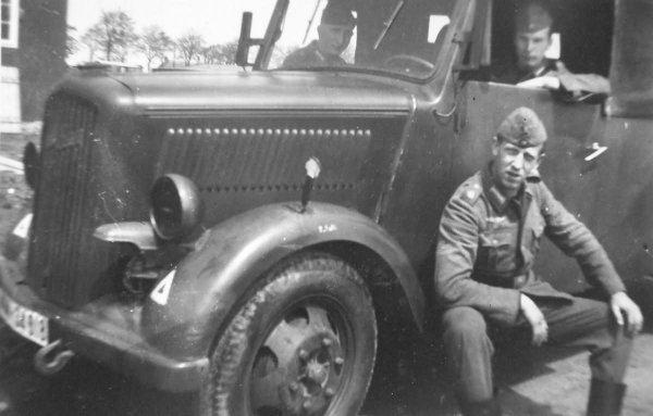 OPEL BLITZ ALLEMAND WW2