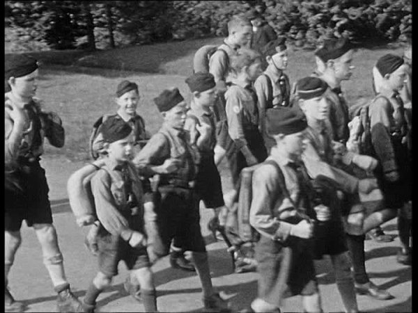 RUKSAK HITLRTJUGEND ALLEMAND WW2