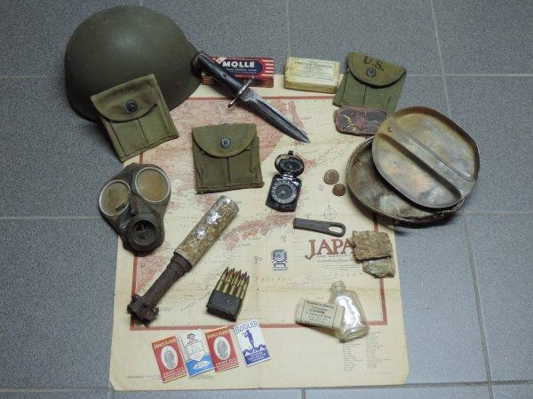CARTE JAPAN US WW2