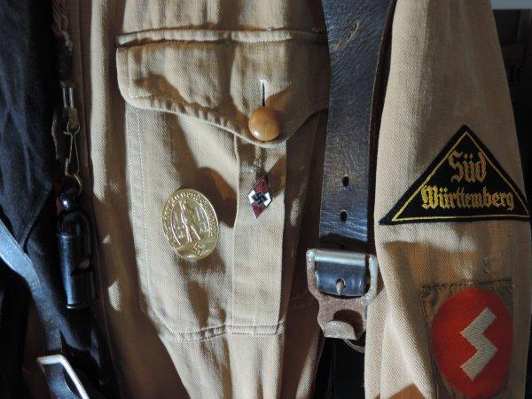 HitlerJugend  - Mitgliedsabzeichen insigne de membre ALLEMAND WW2