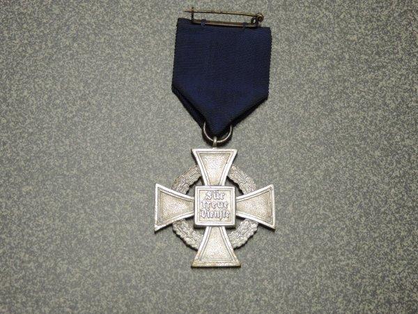 MEDAILLE ALLEMANDE 25ANS DE SERVICE WW2