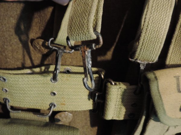 M36 SUSPENDERS US WW2