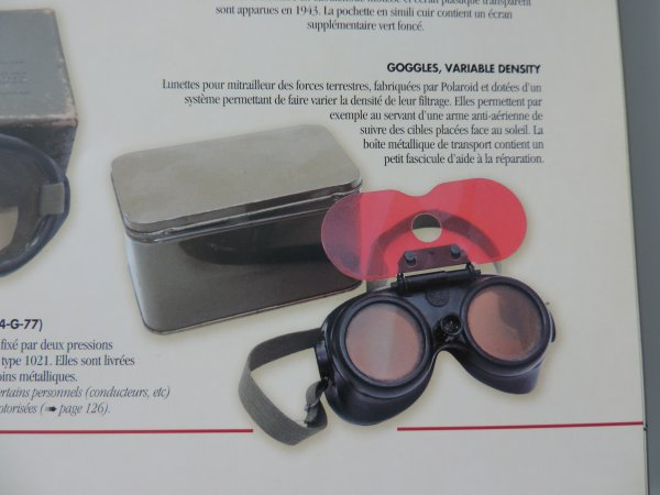 POLAROID GOGGLES VARIABLE DENSITY US WW22