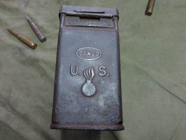 US WW2 .30 AMMO BOX