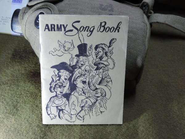 ARMY SONG BOOK US WW2 1941