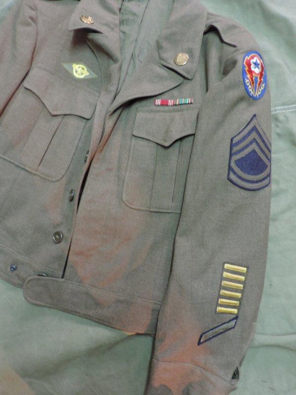 US WW2 IKE JACKET