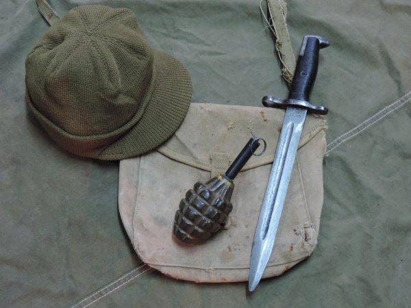US WW2 MK2 HANDGRENADE