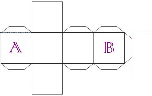Tuto boîte cube