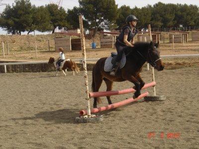 Caline en petit saut :)