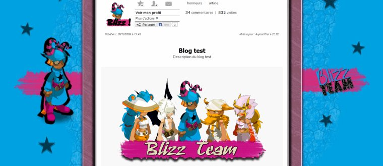 [05/03/2013] - Commande Blizz-team